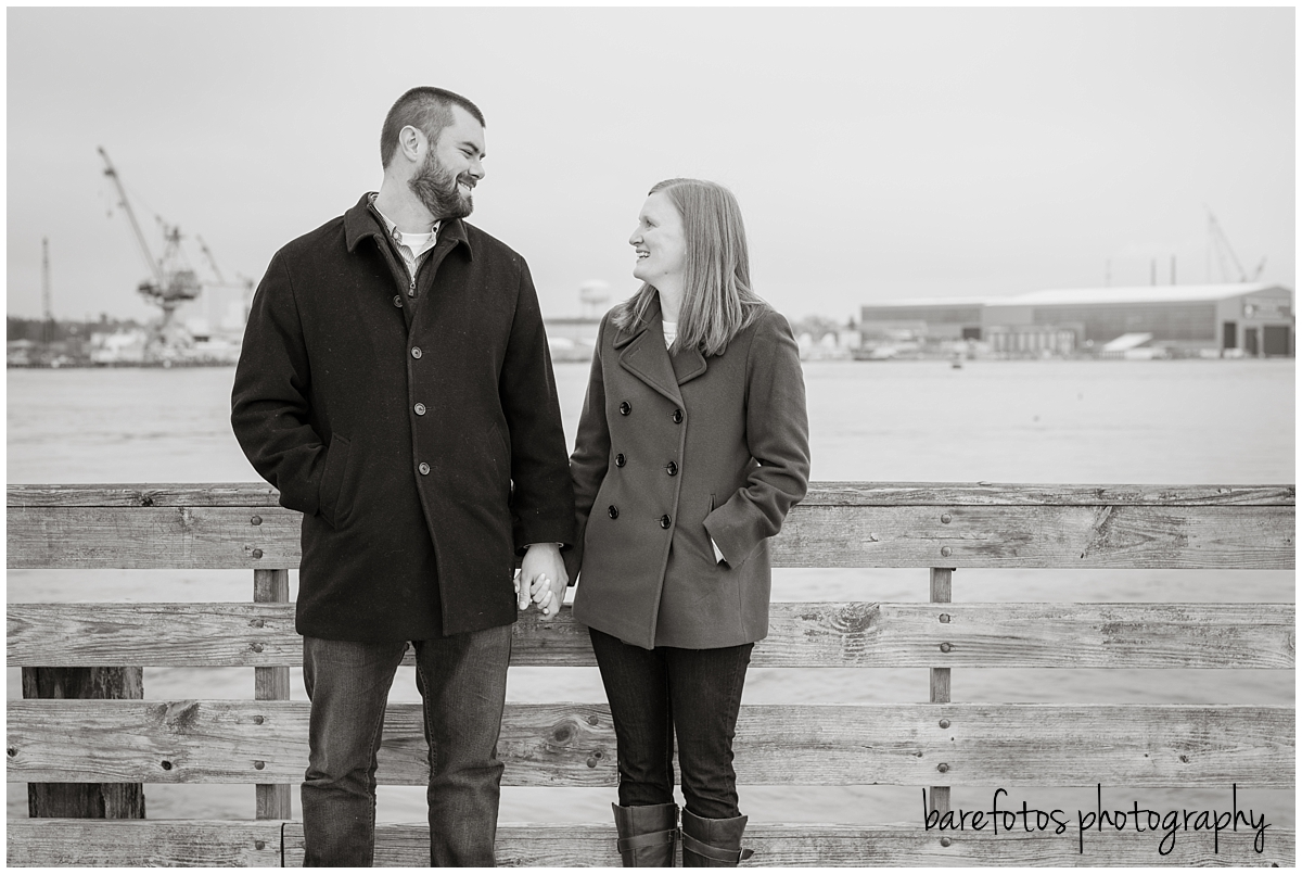 Brent + Caitlin | Portsmouth, NH | Engagement Session