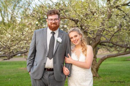 Alyson's Orchard Wedding | NH Wedding | Barefotos Photography