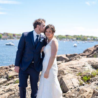 A+C | Fort Sewall & Harbor Light Inn Wedding | Marblehead, MA