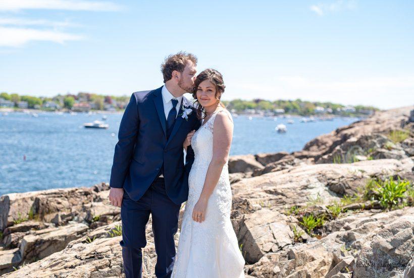 Harbor Light Inn | Fort Sewall | Marblehead, MA Wedding | Barefotos Photography