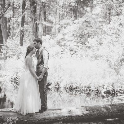 R + A | Bear Brook State Park Wedding