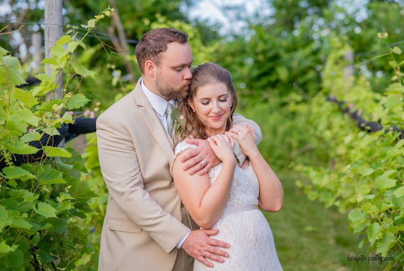 LaBell Winery Wedding | NH Wedding Photography | Barefotos Photography